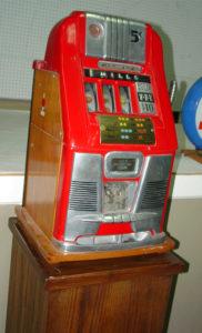 Mills Spielautomat hatte Systemfehler